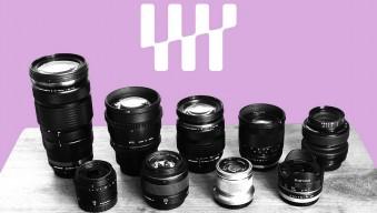 Набор оптики под беззеркальные камеры системы Micro 4/3