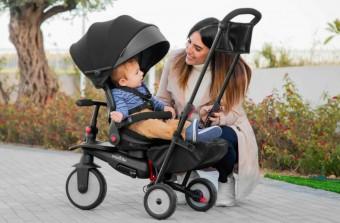 Переходный детский транспорт: ТОП-5 отличных велосипедов-колясок