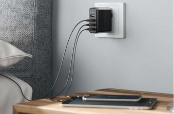 ТОП-5 швидких мережевих зарядок для гаджетів і смартфонів