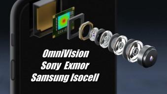 Матриці камер смартфонів: OmniVision, Samsung ISOCELL і Sony Exmor