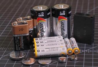 Батарейки и аккумуляторы: типы, формы и размеры