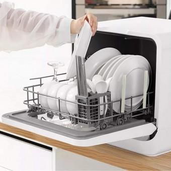Пятерка компактных посудомоечных машин для размещения на столе