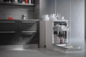 Пятерка классных отдельностоящих посудомоечных машин шириной 45 см
